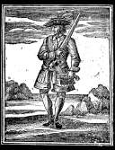 "Calico Jack Reckham (1682-1720) an den die Worte ""If you fought like a man, you need not be hanged like a dog"" gerichtet sind"